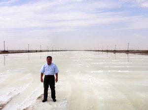 内モンゴル アルシャン 塩湖
