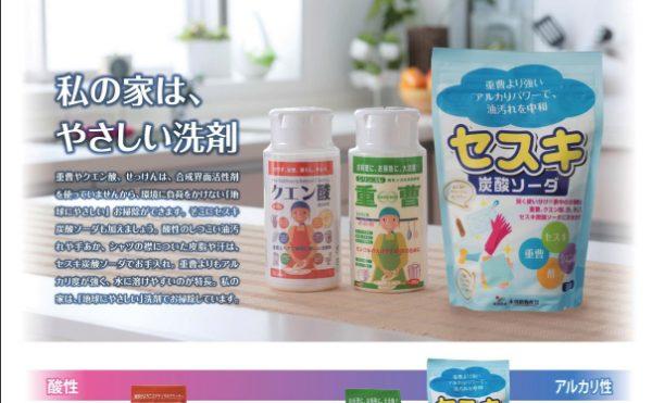 セスキ炭酸ソーダ チラシ